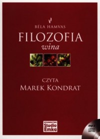 Filozofia wina (CD mp3) - pudełko audiobooku