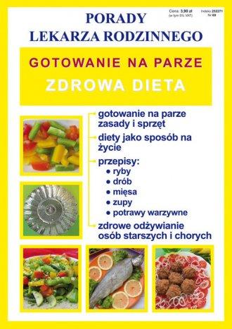 Gotowanie na parze. Zdrowa dieta. - okładka książki