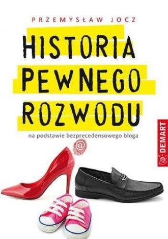 Historia pewnego rozwodu - okładka książki