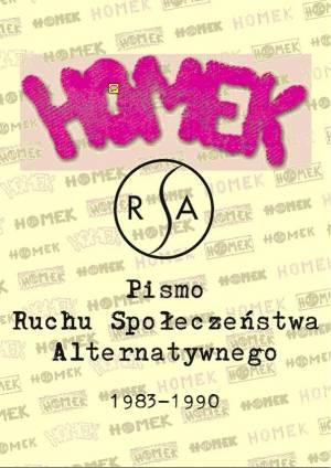 HOMEK. Pismo Ruchu Społeczeństwa - okładka książki