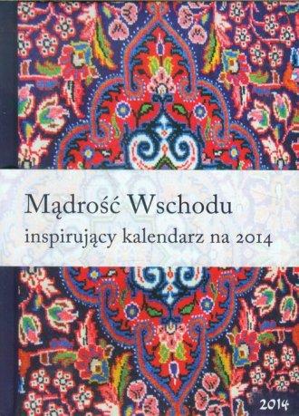Kalendarz 2014. Mądrość Wschodu - okładka książki