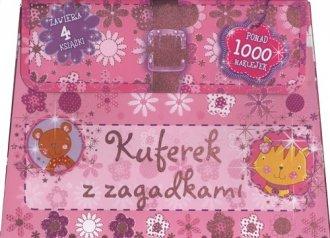 Kuferek z zagadkami - okładka książki