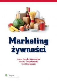 Marketing żywności - okładka książki