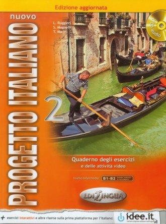Nuovo Progetto Italiano 2. Ćwiczenia. - okładka podręcznika