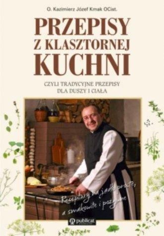 Przepisy z klasztornej kuchni, - okładka książki