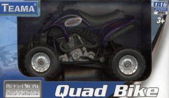 Quad granatowy - zdjęcie zabawki, gry