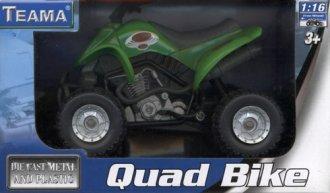 Quad zielony - zdjęcie zabawki, gry