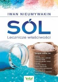 Sól. Lecznicze właściwości - okładka książki