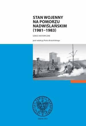 Stan wojenny na Pomorzu Nadwiślańskim - okładka książki