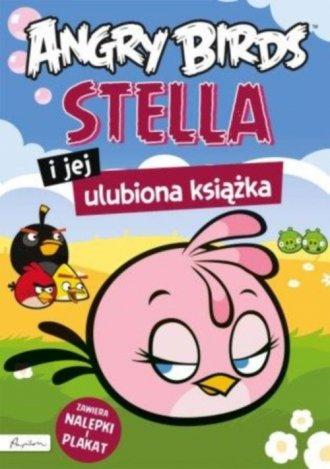 Stella i jej ulubiona książka Angry - okładka książki