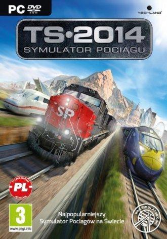 Symulator Pociągu 2014 - pudełko programu