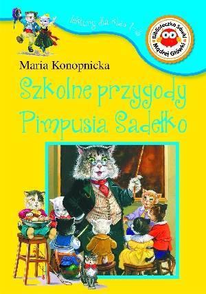 Szkolne przygody Pimpusia Sadełko. - okładka podręcznika