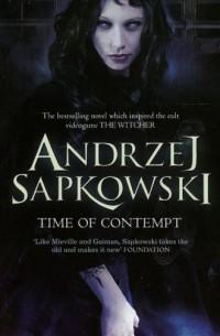 Time of Contempt - okładka książki