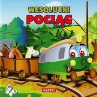 Wesolutki pociąg - okładka książki