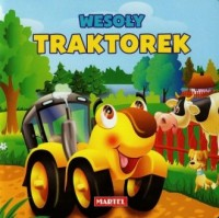 Wesoły traktorek - okładka książki