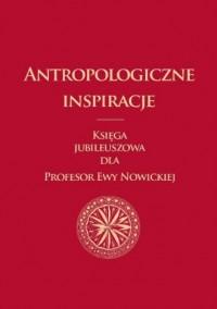 Antropologiczne inspiracje. Księga - okładka książki