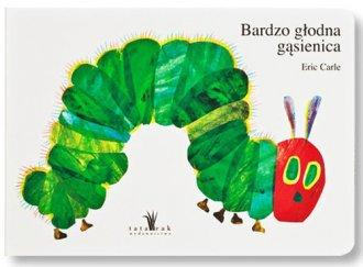 Bardzo głodna gąsienica - okładka książki