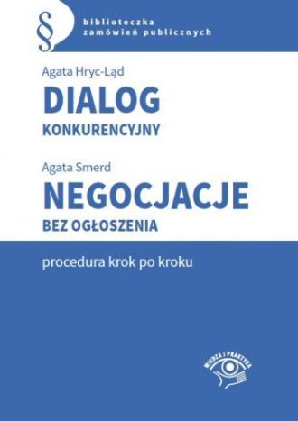 Dialog konkurencyjny. Negocjacje - okładka książki