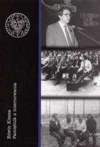Edwin Klessa. Pamiętnik z internowania - okładka książki