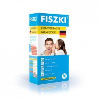 Fiszki. Język niemiecki. Konwersacje - okładka podręcznika