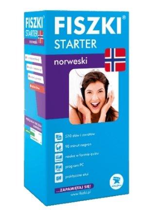 Fiszki. Język norweski. Starter - okładka podręcznika