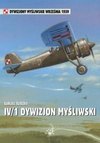 IV/1 Dywizjon Myśliwski - okładka książki