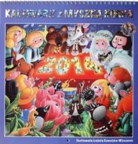 Kalendarz 2014 z myszką Norką - okładka książki