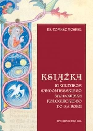 Książka w kulturze sandomierskiego - okładka książki