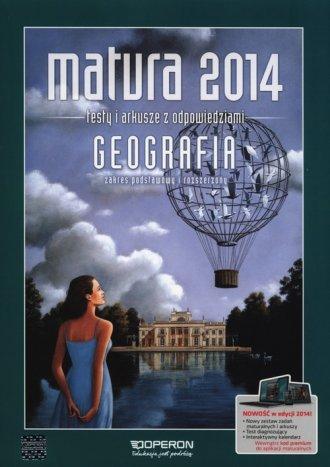 Matura 2014. Geografia. Testy i - okładka podręcznika