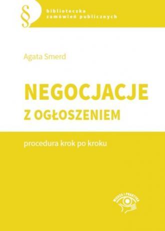 Negocjacje z ogłoszeniem. Procedura - okładka książki