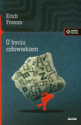 O byciu człowiekiem - okładka książki