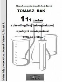 111 zadań z chemii ogólnej i nieorganicznej - okładka książki