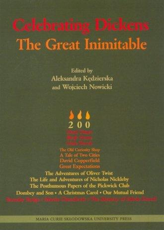 Celebrating Dickens. The Great - okładka książki