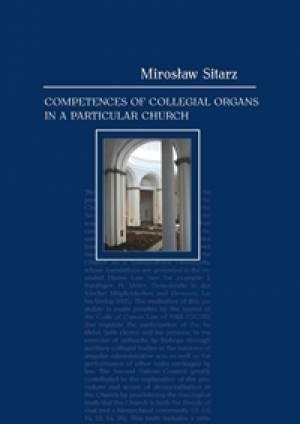 Competences of Collegial Organs - okładka książki