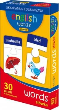 English words. Words - Wydawnictwo - zdjęcie zabawki, gry