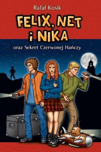 Felix Net i Nika oraz Sekret Czerwonej - okładka książki