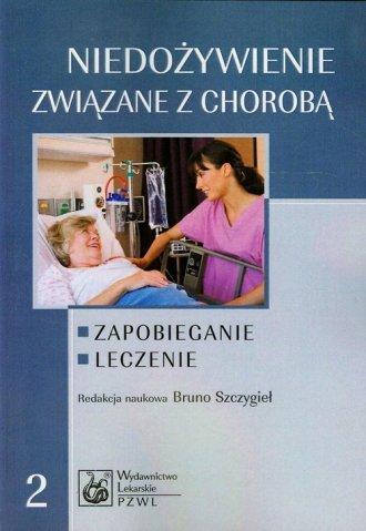 Niedożywienie związane z chorobą - okładka książki