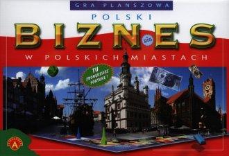 Polski biznes w polskich miastach. - zdjęcie zabawki, gry