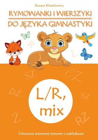 Rymowanki i wierszyki do języka - okładka książki