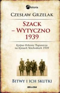 Szack-Wytyczno 1939 - okładka książki