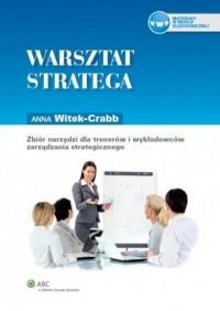 Warsztat stratega - okładka książki