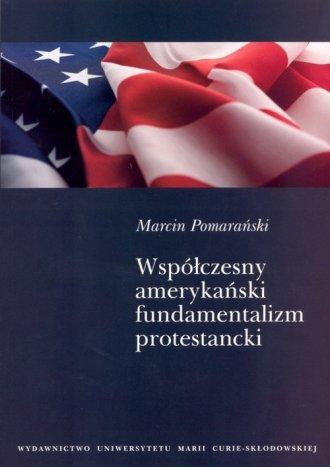 Współczesny amerykański fundamentalizm - okładka książki