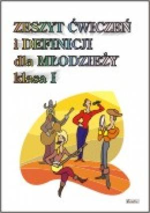 Zeszyt ćwiczeń i definicji dla - okładka podręcznika