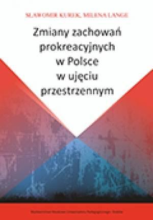 Zmiany zachowań prokreacyjnych - okładka książki