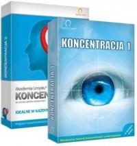 Akademia Umysłu: Koncentracja 1  Koncentracja 2. PAKIET - pudełko programu