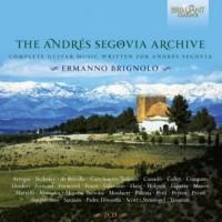 Andres Segovia Archives - okładka płyty