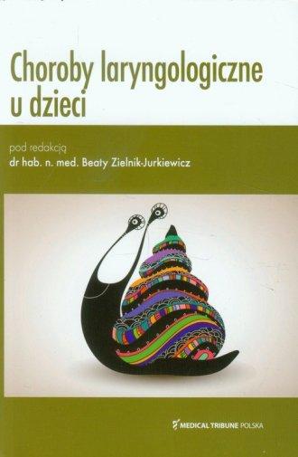 Choroby laryngologiczne u dzieci - okładka książki