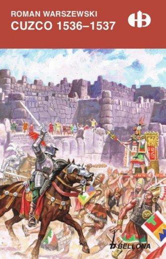 Cuzco 1536-1537 - okładka książki