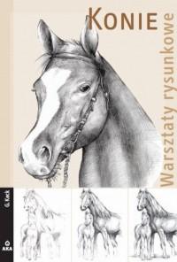 Konie. Warsztaty rysunkowe - okładka książki