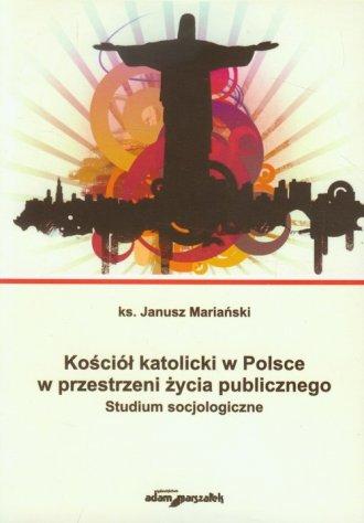 Kościół katolicki w Polsce w przestrzeni - okładka książki